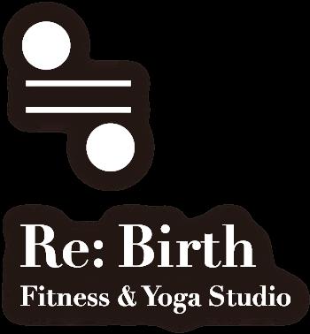 ロゴ:新潟のホットヨガ・エアヨガ&フィットネス・スタジオ リバース(Re:Birth)
